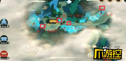 剑网3指尖江湖稻香村宝箱在哪?稻香村宝箱位置大全