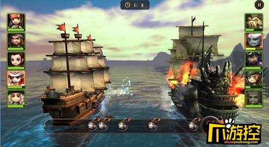 《决战加勒比海-沉睡魔咒》变态版大海战怎么玩?大海战玩法攻略