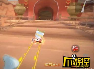 跑跑卡丁车手游日光城地图跑法攻略