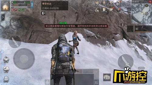 明日之后登顶狼袭峰雪崩处理攻略
