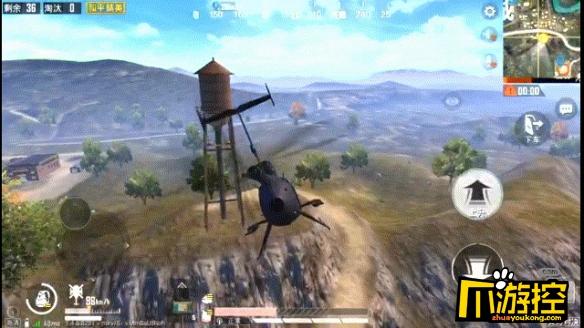 和平精英新模式直升机位置介绍