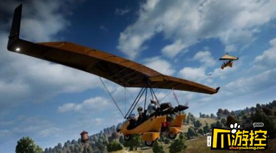 绝地求生,绝地求生动力滑翔机怎么使用,动力滑翔机操作技巧