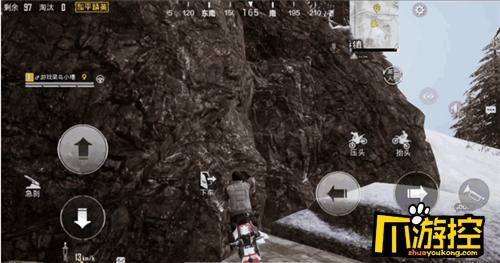 和平精英雪地防空洞进入方法介绍