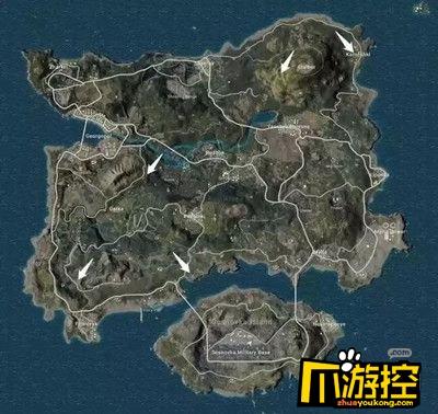和平精英海岛地图2.0隐藏地下室在哪里