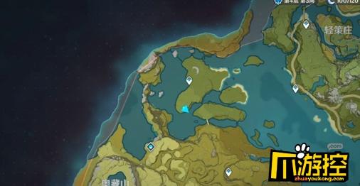 原神璃月飞行竞速在哪里