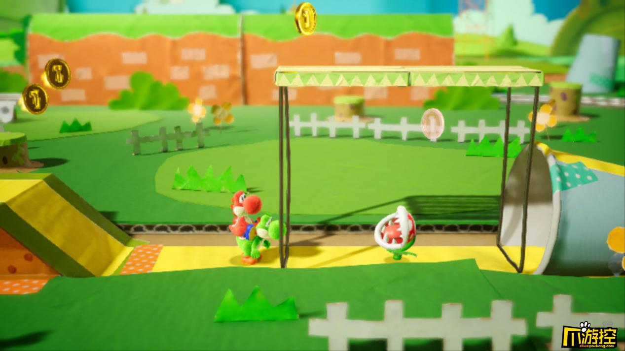 《耀西的手工世界》游戏评测:简单有趣 偏向于全年龄可玩