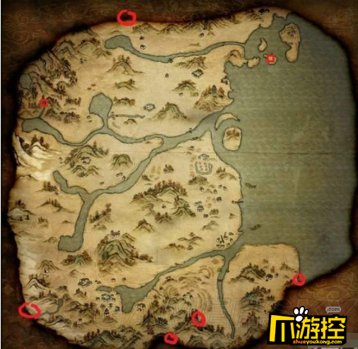 河洛群侠传龙珠在哪里_龙珠坐标位置一览