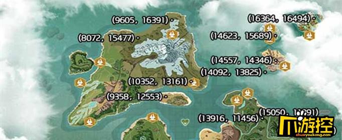 创造与魔法云斑鹦刷新位置在哪?