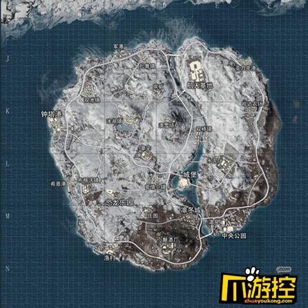 和平精英雪地地图资源分布大全