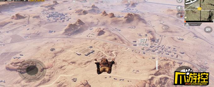 和平精英沙漠地图防空洞位置介绍