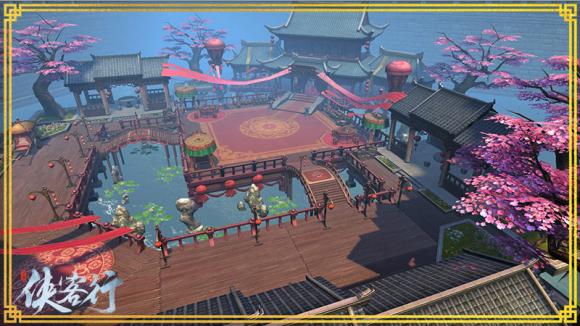 《俠客行》驚艷的唯美畫面 展現真實江湖美景