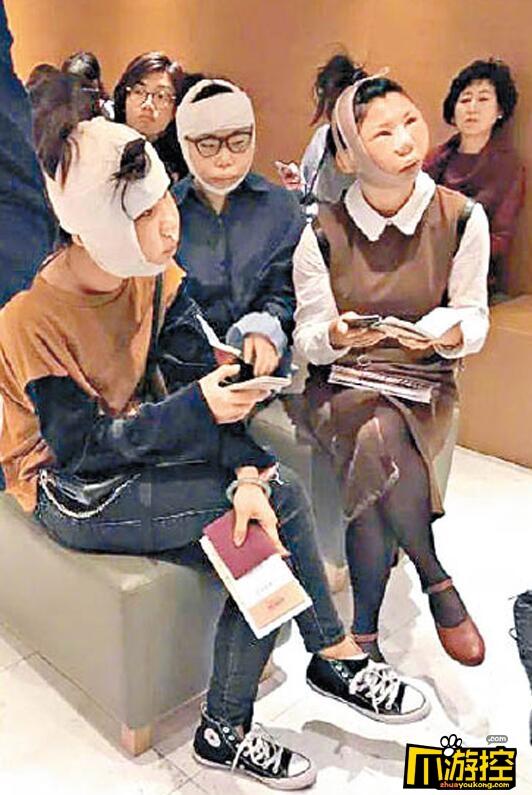 大陆女子赴韩整容后出境遭拒 没消肿海关认不出