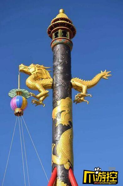 故宫拍卖天灯万寿灯 作为公益活动拍卖