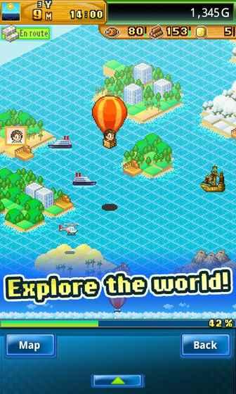 开拓无人岛无限金币版游戏截图1