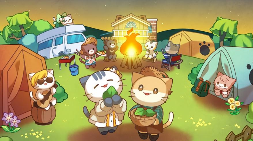 猫咪森林露营地的故事汉化版