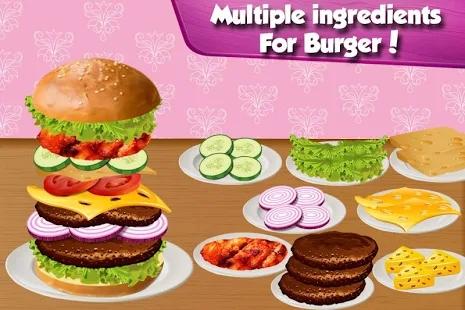 汉堡包烹饪大师中文版游戏截图4