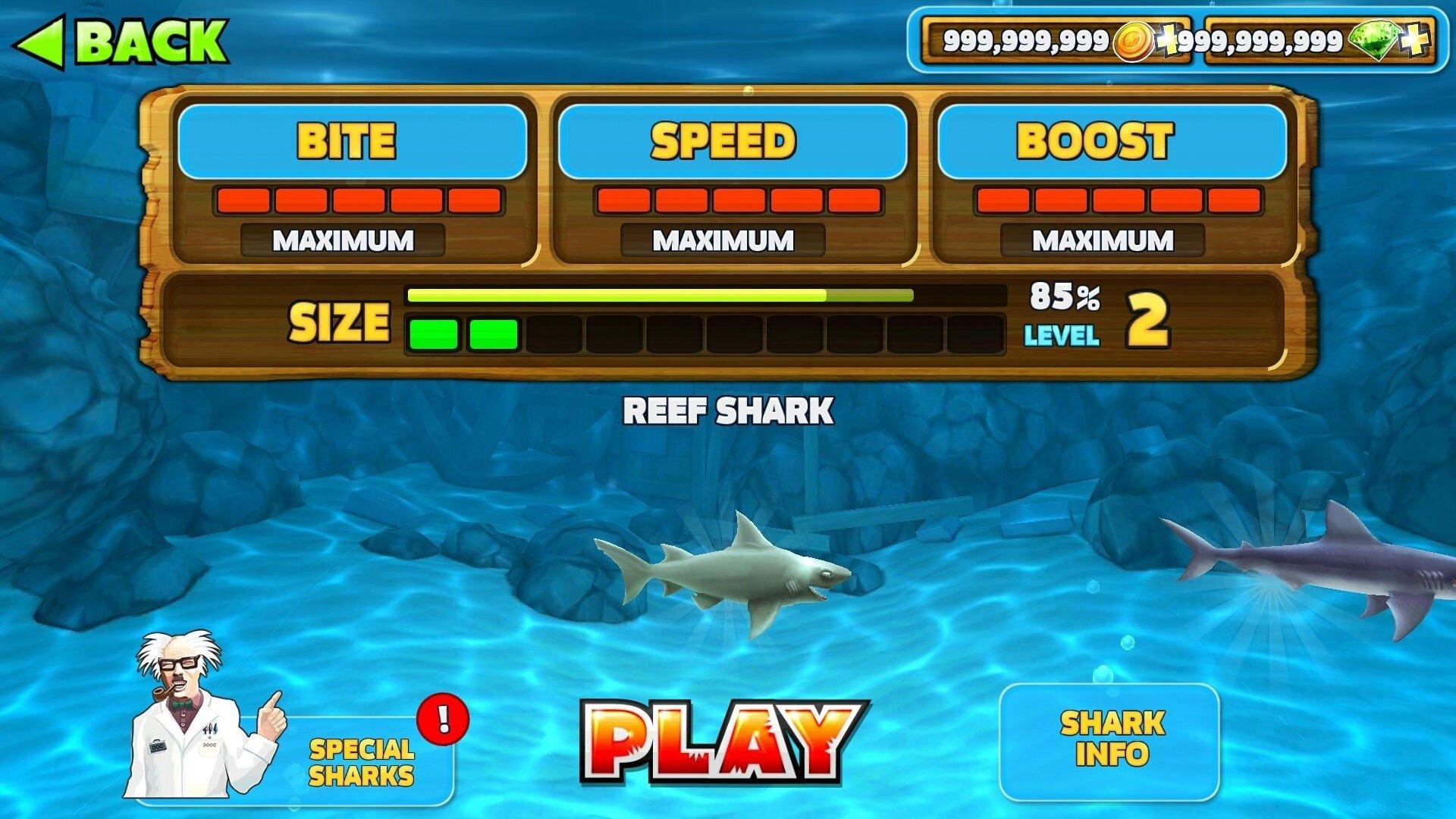 饥饿鲨鱼进化无敌版