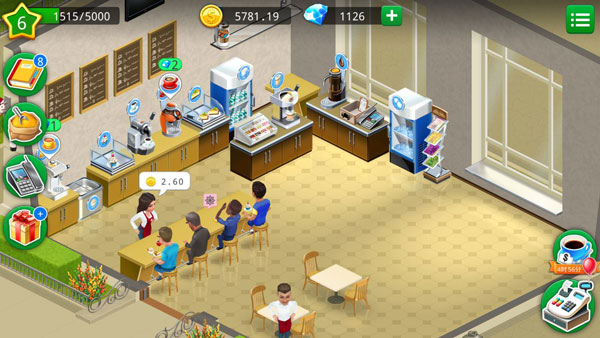我的咖啡厅无限金币版