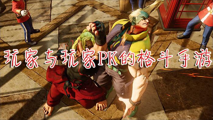 玩家与玩家PK的格斗手游