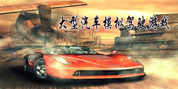 大型汽车模拟驾驶游戏