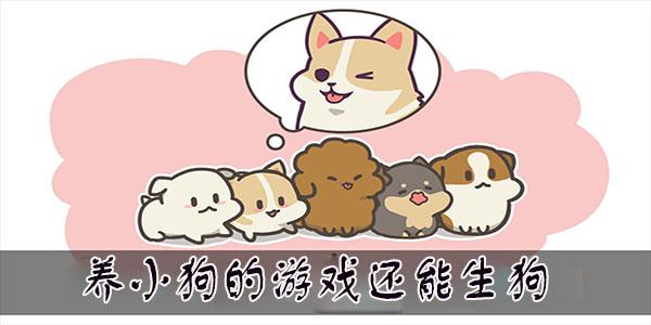养小狗的游戏还能生狗